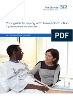 Your guide to coping with bowel obstruction