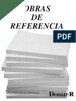 libros de referencia literatura y lingüística