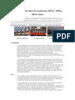 Tubos API 5L de tubos de conducción.docx