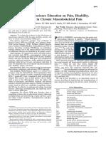 El efecto de la educación en neurociencia sobre el dolor, la discapacidad, la ansiedad y el estrés en el dolor musculoesquelético crónico..pdf