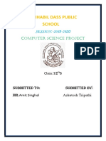 12th Computer Science Project PDF File -1.docx