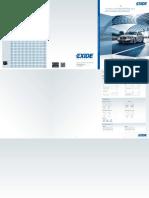 Каталог применяемости EXIDE на легковые авто_ 2015