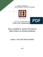 Tarea Académica - Clásicos del Constitucionalismo 2017-1 (14 DE JULIO)