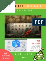 Plugin Deals Magazine - Issue 1 - Dec 2019
