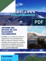 Informe estado glaciares Colombia 2018