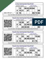 600+ Tambola /Bingo Tickets Free for Print