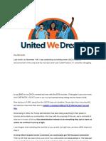 UWDA - No to Increase