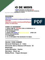 MIDIS POR ENCARGO (NEW)