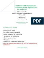 FSSC ISO22000 - BOOTCAMP EXPLANATION