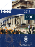 2019 Wits Fees Book