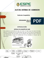 Sistema de admisión