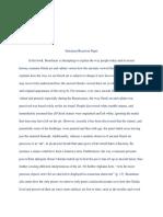 Greek Civilization Summary-Reaction Paper 1