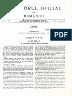 Monitorul Oficial nr 2 1989 COMUNICAT al Consiliului Frontului Salvării Naţionale