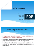 Hyp Ho Thesis
