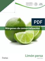 Margenes ganancia Limon Persa Ene2015