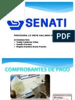 COMPROBANTES DE PAGO SENATI