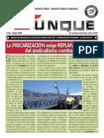 Yunke_nº 28,  Enero 2020, Órgano de Expresión de la Sección Sindical del S.A.T. en Navantia San Fernando. La Carraca-S