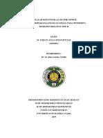 DETEKSI KOMPLIKASI GANGGUAN GINJAL PADA PENDERITA DIABETES MELLITUS TIPE II