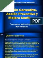 Acciones correctivas y preventivas