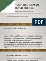 Abstencion electoralen la juventud chilena.pptx