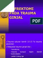 NEFREKTOMI TRAUMA GINJAL