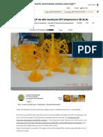 Impressora 3D DLP de alta resolução DIY (impressora 3D SLA)_ 22 etapas (com imagens)