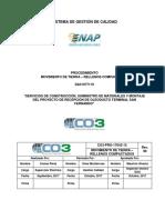 CO3-PRO-17042-15 Movimiento de tierra - rellenos compactados rev. 0