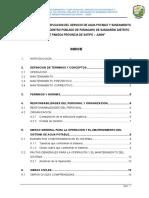 Manual O&M Agua-PARIAGARO
