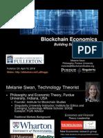 Blockchain Economics