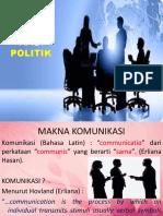 Konsep Dasar Komunikasi Politik