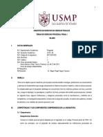 14.Silabo - Temas del Derecho Procesal Penal I