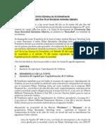 Junta General de Accionistas de