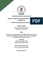DISEÑO DE UN PLAN ESTRATÉGICO DE MARKETING PARA POTENCIAR LOS SERVICIOS ADMINISTRATIVOS DEL INSTITUTO DE POSTGRADO Y EDUCACIÓN CONTINUA DE LA UNEMI.pdf