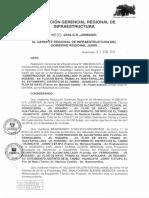 Resoluci n Gerencial Regional de Infraestructura N 033-2019-GR-JUNIN GRI