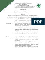 8.2.1.1 SK PENILAIAN PENGENDALIAN OBAT,PENYEDIAAN DAN PENGGUNAAN OBAT.doc