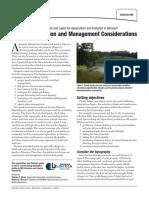 Pond Construction and Management Considerations G09474 Hicks Aquaculture