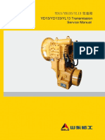 YD13 YD133 YL13 Transmission Service Manual