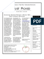 Winter 2008-2009 Just Piced Newsletter, Midwest Organic and Sustainable Education Service