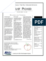 Fall 2009 Just Piced Newsletter, Midwest Organic and Sustainable Education Service
