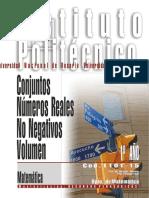 1101-15 MATEMATICA Conjuntos-Reales no negativos-Volumen.pdf