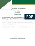 2019-10-22 -  Fato Relevante - Atualização Convocação AGE.pdf