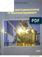 Testing And Commissioning Of Electrical Equipment-1