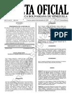 Gaceta Oficial Extraordinaria 6497