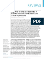 2018 - Cognitive decline and dementia in diabetes mellitus- mechanisms and clinical implications.pdf