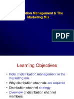 Ch8 - Distribution Management and Marketing Mix mod.ppt