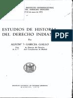 Estudios de historia del Derecho Indiano - Alfonso García-Gallo.pdf