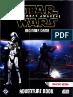 The Force Awakens - (SWR09) Beginner Game - 02 - Adventure Book - Discovery on Jakku