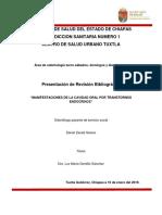 Manifestaciones en la Cavidad Oral por Transtornos Endocrinos.docx