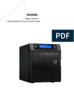 WD WDBLGT0080KBK-NESN Sentinel DX4000 Office Storage Server Quick Install Guide