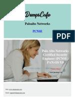 Dumpscafe Paloalto Networks-PCNSE